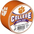 Duck Brand 240263 Clemson University College Logo Duct Tape, 1.88-Inch by 10 Yards, Single Roll