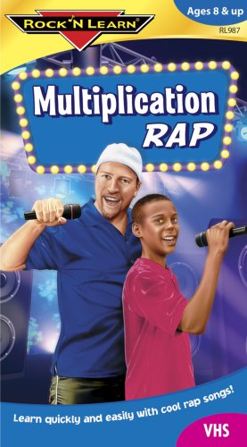 Rock 'N Learn:Multiplication Rap [VHS]