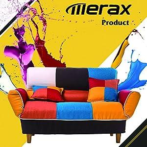 Merax Young Series Sofa Futon Sofa Loveseat Sleeper Modern Contemporary