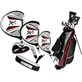 Knight Men's XVII Complete Golf Set (Right Hand, Regular Flex, Driver, 3 Fairway Wood, 4/5 Hybrid, 6-PW, Putter, Bag)