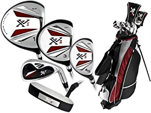 Knight Mens XVII Complete Golf Set (Right Hand, Regular Flex, Driver, 3 Fairway Wood,... by Knight