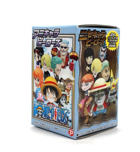 One Piece Anime Character Heros Mini Big Head Figure The New World Vol. 11(Blind Box) by Plex - 1