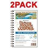 Strathmore 400 Series Visual Watercolor Journal, 140 LB 5.5