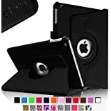 Fintie Apple iPad Air Case - 360 Degree Rotating Stand Case Cover with Auto Sleep / Wake Feature for iPad Air / iPad 5 (5th Generation) - Black