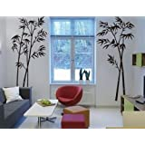 Hotportgift Bamboo Mural Home Decor Decals Decorative Removable Craft Art Wall Stickers