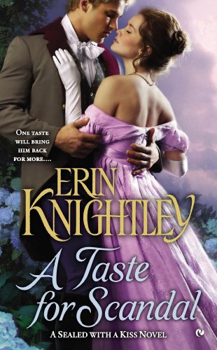 Image of A Taste for Scandal: A Sealed With a Kiss Novel