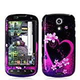 Samsung SPH-D700 Epic 4G Graphic Case - Purple Love