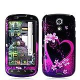 Samsung SPH-D700 Epic 4G Graphic Case - Purple Love