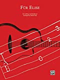 img - for F r Elise: Classical Guitar TAB, Sheet (CPP Classical Guitar Tab Editions) book / textbook / text book