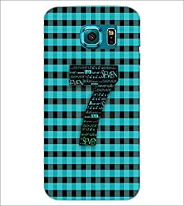 PrintDhaba Typography D-2988 Back Case Cover for SAMSUNG GALAXY S6 EDGE (Multi-Coloured)
