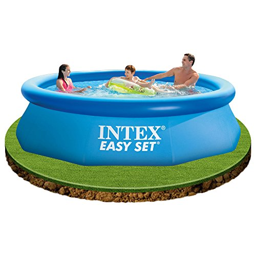 Intex 28122 piscina rotonda easy set 305x76 cm con pompa for Piscina intex rotonda