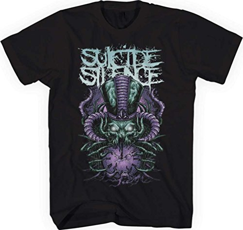 Suicide Silence - Top - Uomo Black Small