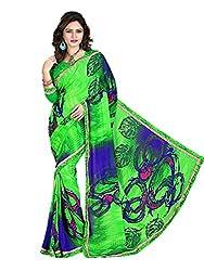 Gopika Creation Women's Georgette Saree_gop82_Multicolored_Freesize