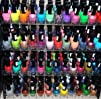 48 Piece Rainbow Colors Glitter Nail…