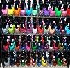 48 Piece Rainbow Colors Glitter Nail…