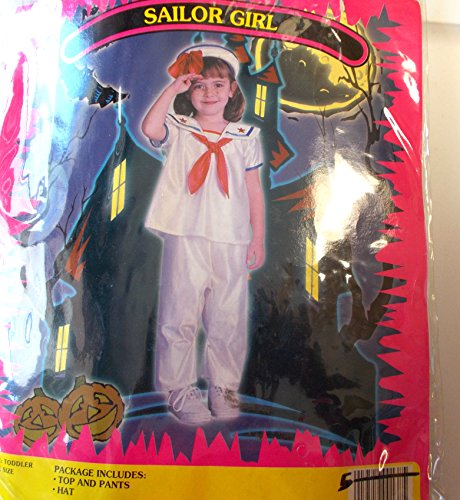Sailor Girl Toddler Costume 2T NWT