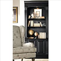 Hot Sale Hooker Furniture Telluride Bunching Bookcase with Doors in Black