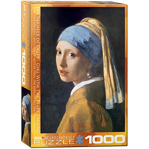 Eurographics Girl with A Pearl Earring by Vermeer 1000-Piece Puzzle