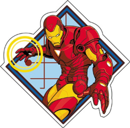 Licenses Products Invincible Iron Man Power Sticker