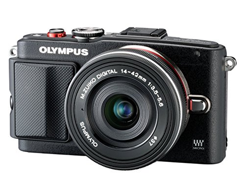 <p>OLYMPUS Pen E-PL 6+14-42mm EZ Pancake Expression Kit schwarz+8GB Flash-Air Speicherkarte</p>