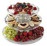 CreativeWare 3-Tier Serving Tower