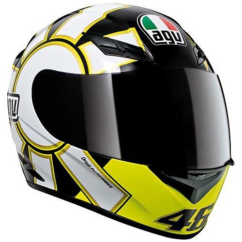 AGV エージーブイ K3 Series Gothic Helmet フルフェイス ヘルメット 2013モデル ブラック M(57~58cm)