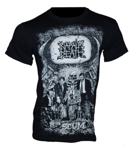 Napalm Death Band maglietta Scum Vintage taglie dalla S Maglietta