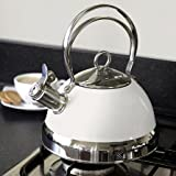 Candy Rose Stove Kettle Cream