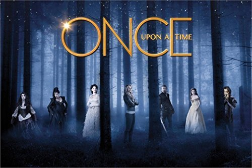 Once Upon a Time poster 36 inch x 24 inch / 20 inch x 13 inch by bribase shop [並行輸入品]
