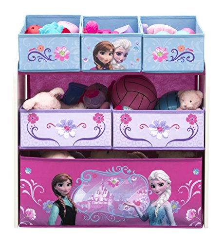 Delta Children Multi-Bin Toy Organizer, Disney Frozen (Frozen Table And Chair Set compare prices)