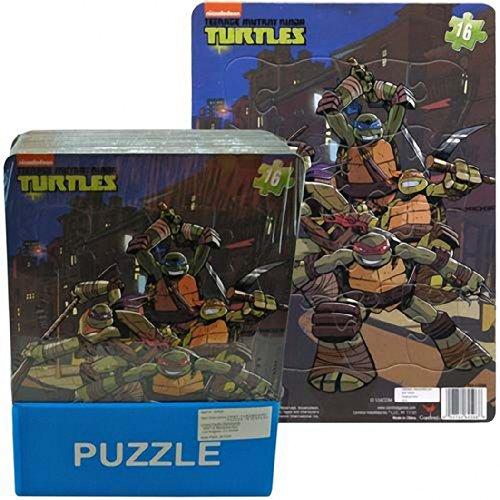 Nick Jr Teenage Mutant Ninja Turtles 16 Piece Jigsaw Puzzle - TMNT