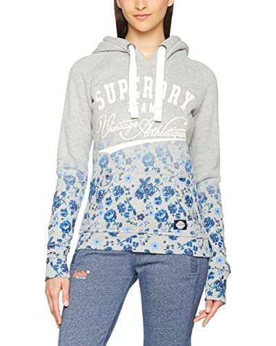 Superdry Felpa Cappuccio Ombre Roses Hood