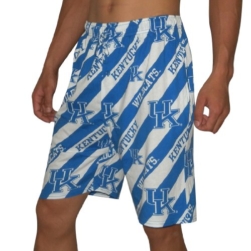NCAA KENTUCKY WILDCATS Mens Cotton Sleepwear / Pajama Shorts Medium Multicolor at Amazon.com