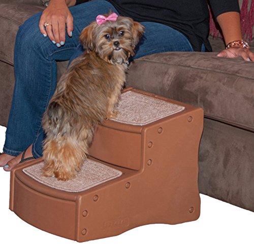 Artikelbild: Pet Gear Easy Step II Treppe für Haustiere, X-Small, helles Kakaobraun/cremefarben