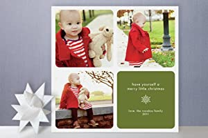 Checkers Christmas Photo Cards by Ã...sa Ranneby