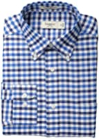 Haggar Men's Long-Sleeve Gingham Shirt