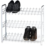 Pro-Mart DAZZ 3-Tier Shoe Rack, Steel