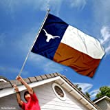 Texas Longhorns Texas State Flag