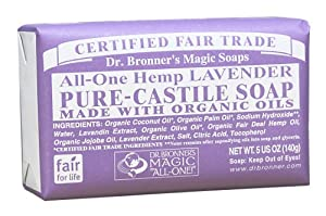 Bar Soap Organic-Lavender 5 Ounces