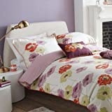 V&A Deco Poppies Duvet Cover Set||RLCTB