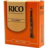 Rico Instrument Reeds - Bb Clarinet-1.5 - 10 set