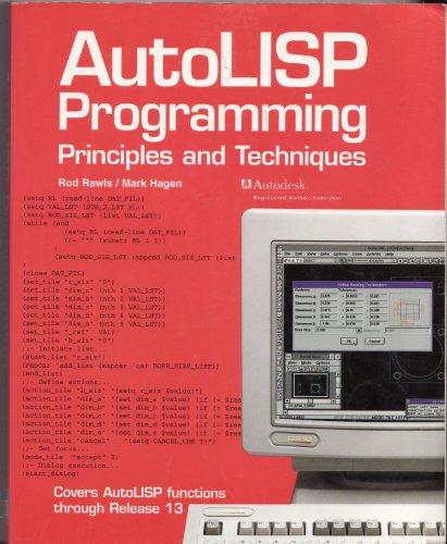 autolisp programming principles and techniques pdf