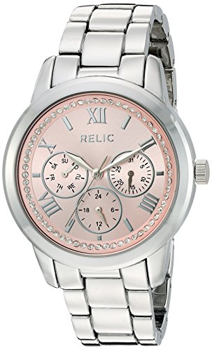 Relic Women's 'Kendall' Quartz Metal and Alloy Casual Watch, Color:Silver-Toned