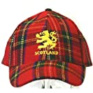 Scotland Embroidered Lion Royal Stewart Design Baseball Cap