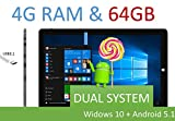 8 inch Intel Quad-core Z8300 1.8Ghz CPU Windows 10 & Android 5.1 Dual System Tablet PC 2G RAM/32GB ROM With Full Hd Retina Display 1920*1200 Dual Cameras Windows 10 WiFi Bluetooth Google Play 8' tablet PC Chuwi Tablet PC (8 inch 2GB 32GB) (10 inch 64GB 4GB RAM)