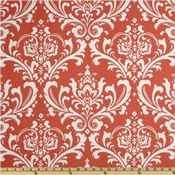 Draft Stopper - Unfilled Draft Stopper for Window or Door Draft Stopper (Damask Coral)