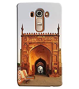 Omnam Heritage Of India Monument Gate Printed Designer Back Cover Case For LG G4