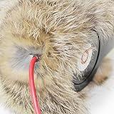EarMuffies - fur earmuff covers for headphones - LARGE Rabbit Violet (Fits Beats Beats Studio/Executive and other popular headphones)