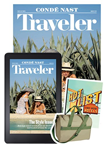 Condé Nast Traveler All Access + Free Weekender Bag & Digital Hot List