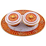 Craft And Craft Handicrafts's Oval Shape Dry Fruit Set